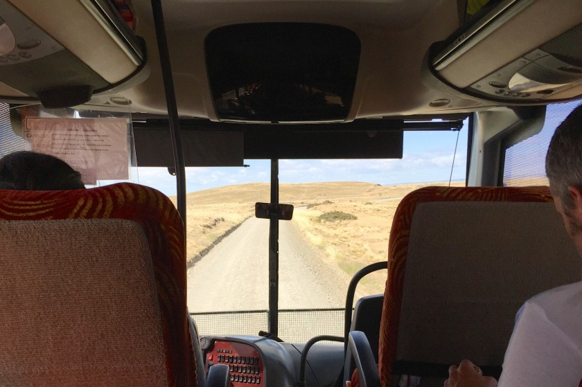 Busfahrt nach Ushuaia