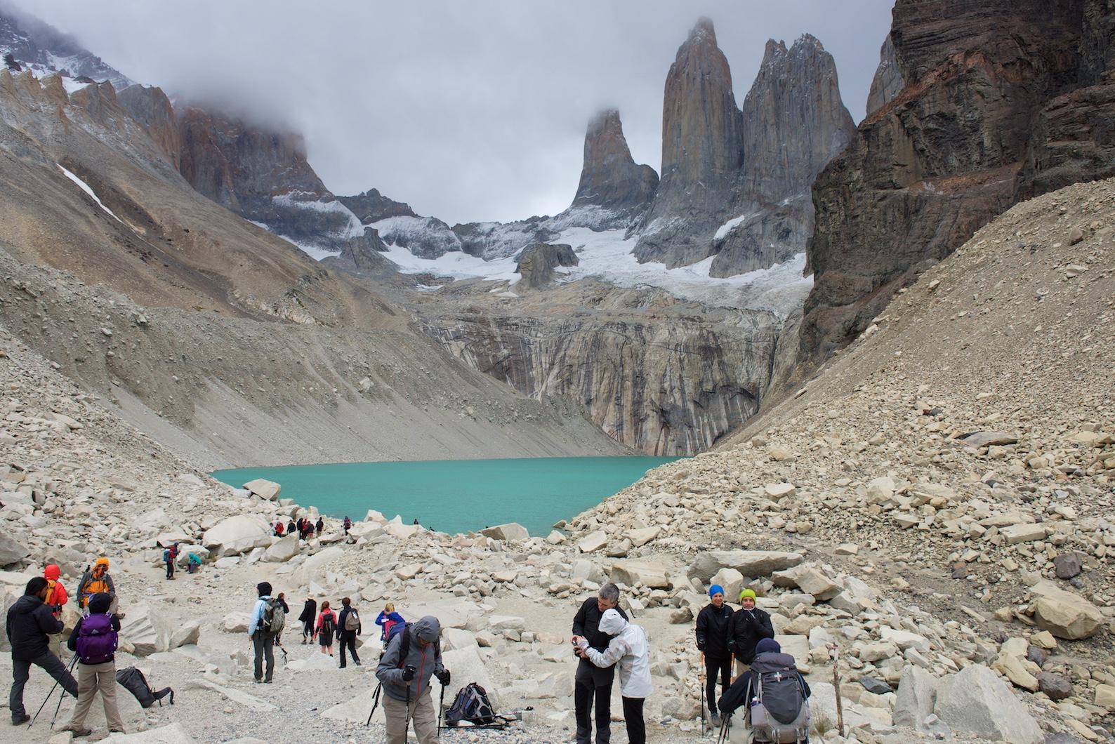 Das eigentliche Wahrzeichen des Nationalparks sind die drei Torres (Hörner) aus Granit.