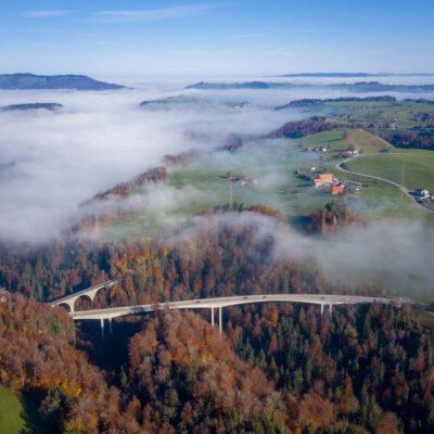 Luftaufnahmen und Panoramen